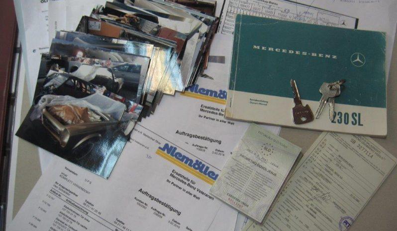 MERCEDES-BENZ, SL 230 PAGODA full