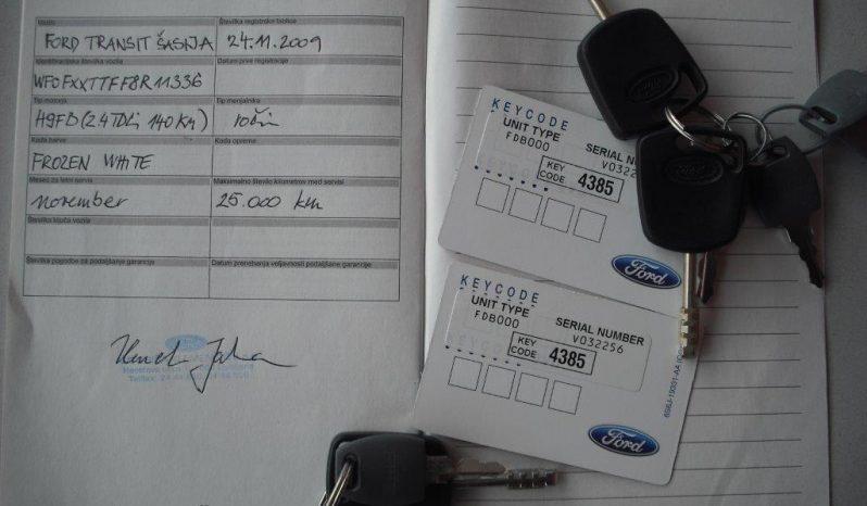 FORD, TRANSIT 2.4 TDCI-avtovleka full