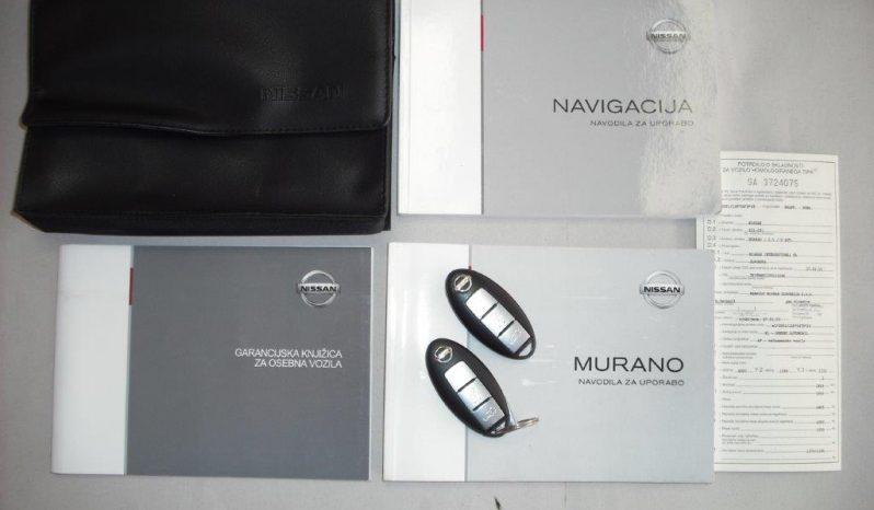 NISSAN, MURANO 2.5 DCI 4WD full